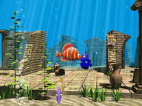 Screenshot of 3D Funny Fish