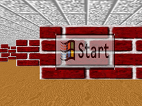 Screenshot of 3D Maze