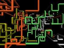 Screenshot of 3D Pipes