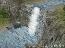 Screenshot of 3D Waterfall