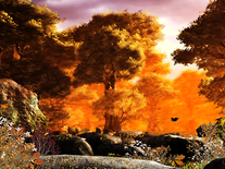 Screenshot of Autumn Forest