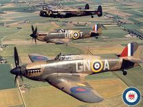 Screenshot of Battle of Britain Memorial Flight (RAF)