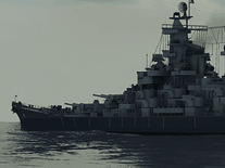 Screenshot of Battleship Missouri 3D