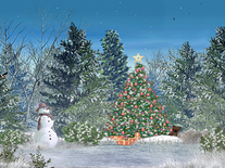 Screenshot of Christmas Forest