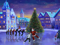 Screenshot of Christmas Ice Rink
