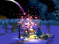 Screenshot of Christmas Night 3D