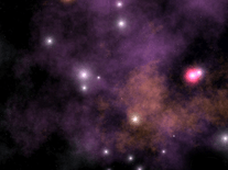 Screenshot of Cosmic Voyage