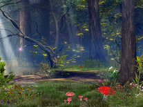 Screenshot of Enchanted Forest