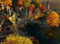 Screenshot of Fall Village 3D