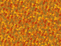 Screenshot of Falling Autumn Leaves