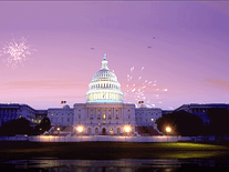 Screenshot of Fireworks on Capitol