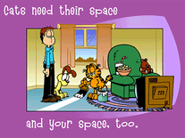 Small screenshot 2 of Garfield's Guide to Cats