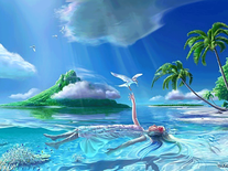 Screenshot of Girl in Paradise