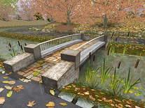 Screenshot of Golden Autumn 3D