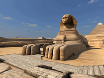 Screenshot of Great Pyramids 3D
