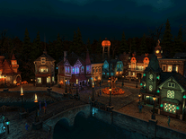 Screenshot of Halloween Village 3D