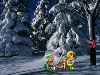 Screenshot of Happy Holidays 2000