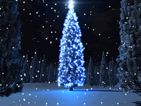 Screenshot of Holiday Tree