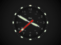 Screenshot of Illuminated Clock