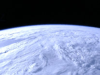 Screenshot of ISS HD Earth Viewing
