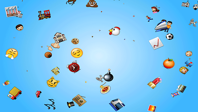 Windows 7 Emoji Rain Screensaver 1.0 full