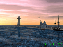 Screenshot of Lighthouse 3D