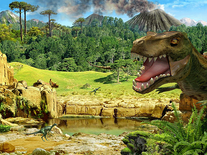 Screenshot of Living 3D Dinosaurs