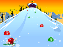 Screenshot of M&M's Winter Wonderland