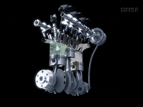 Screenshot of MAHLE Downsizing Engine