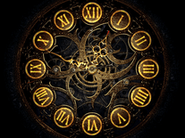 Screenshot of Mechanical Clock 3D