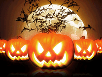 Screenshot of MSN Halloween