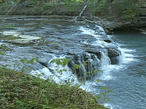 Screenshot of Ozark Natural Waterfalls