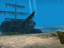 Screenshot of Pirate Ship 3D