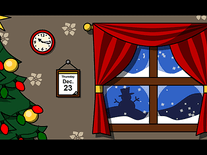 Screenshot of PoseMotion Christmas