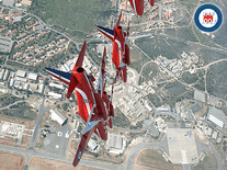 Screenshot of Red Arrows (RAF)