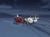 Screenshot of Santa Claus 3D