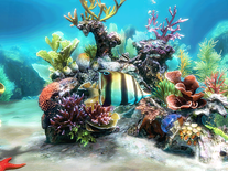 Screenshot of Sim Aquarium 3D