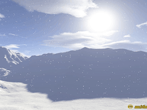 Screenshot of Snowfall
