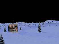 Screenshot of Snowy Winter Wonderland
