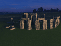 Screenshot of Stonehenge 3D