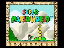 Screenshot of Super Mario World