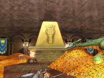 Screenshot of Treasure Vault 3D