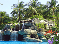 Screenshot of Tropic Waterfall