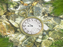 Small screenshot 3 of Underwater Clock