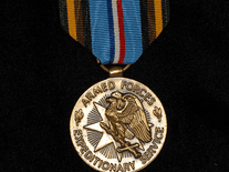 Screenshot of U.S. Military Medals