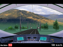 Screenshot of Virtual Train Ride