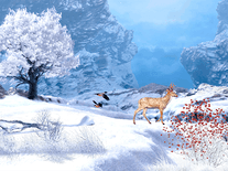 Small screenshot 3 of Winter in Mountain