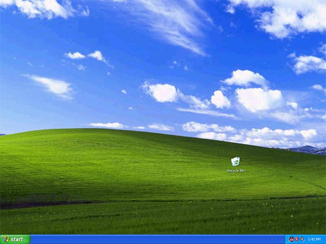Screenshot Of Windows Xp