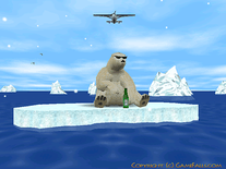 Screenshot of 3D Arctic Bear