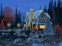 Small screenshot 3 of 3D Christmas Cottage